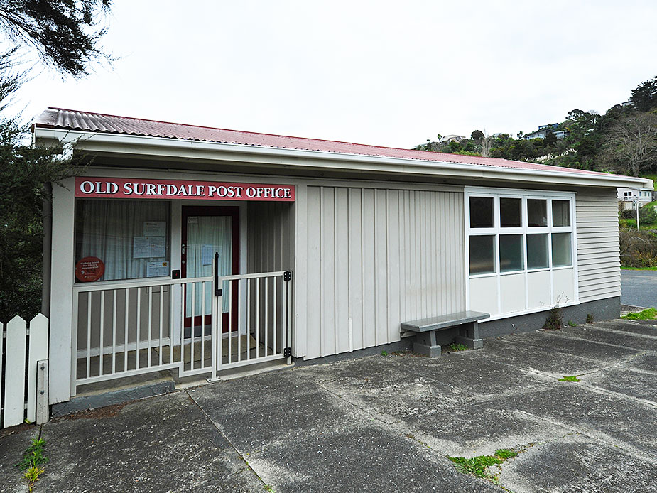 Old Surfdale Post Office Exterior