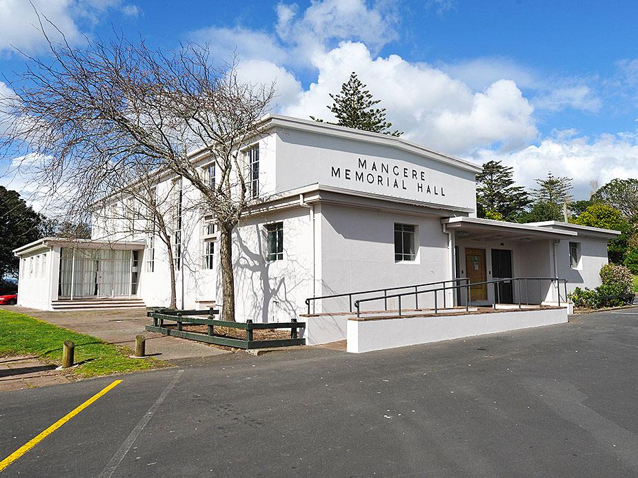 Mangere War Memorial Hall Exterior