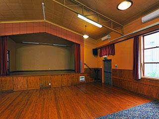 Pukekohe Town Hall Concert Chamber Interior