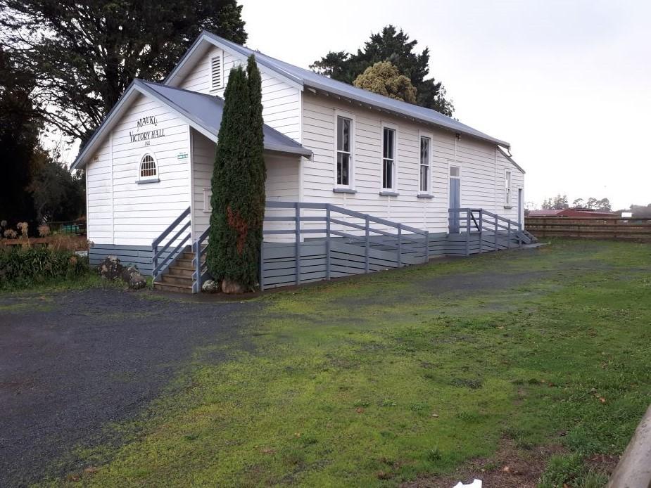 Mauku Victory Hall - External view