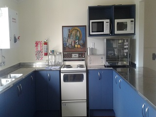 Whangaripo Hall - kitchen