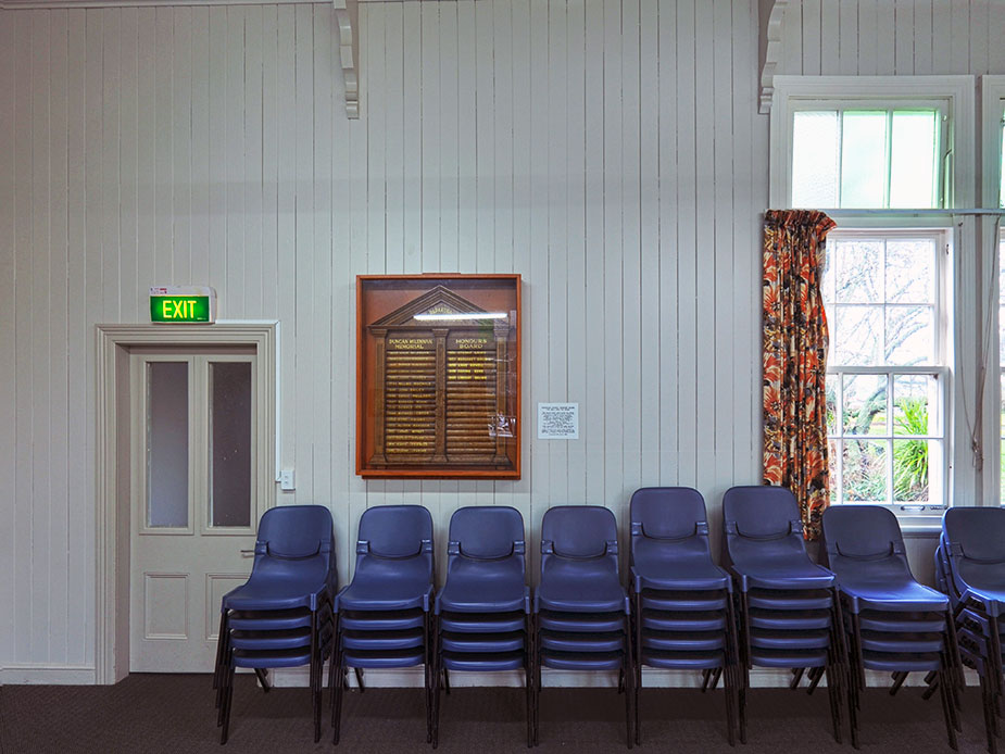 Papakura Old Central School Main Room Interior