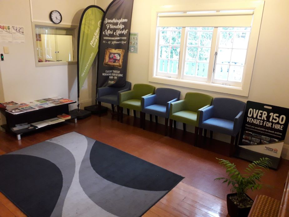 Sandringham Community Centre - Lounge view 2