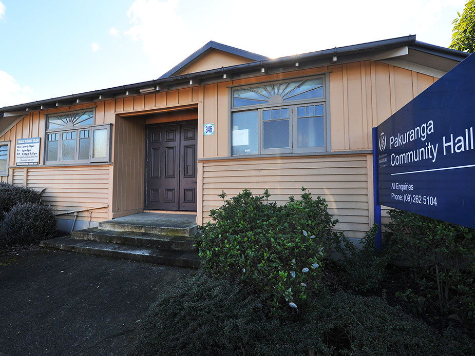 Pakuranga Community Hall Exterior 2