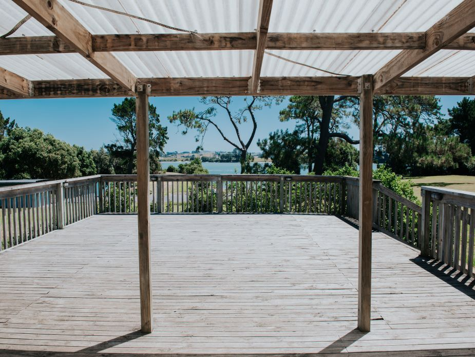 Glenbrook Beach Community Hall - Deck