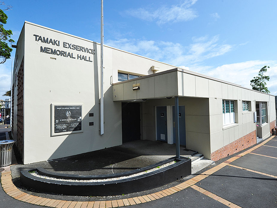 Tamaki Ex-Services Association Hall Exterior