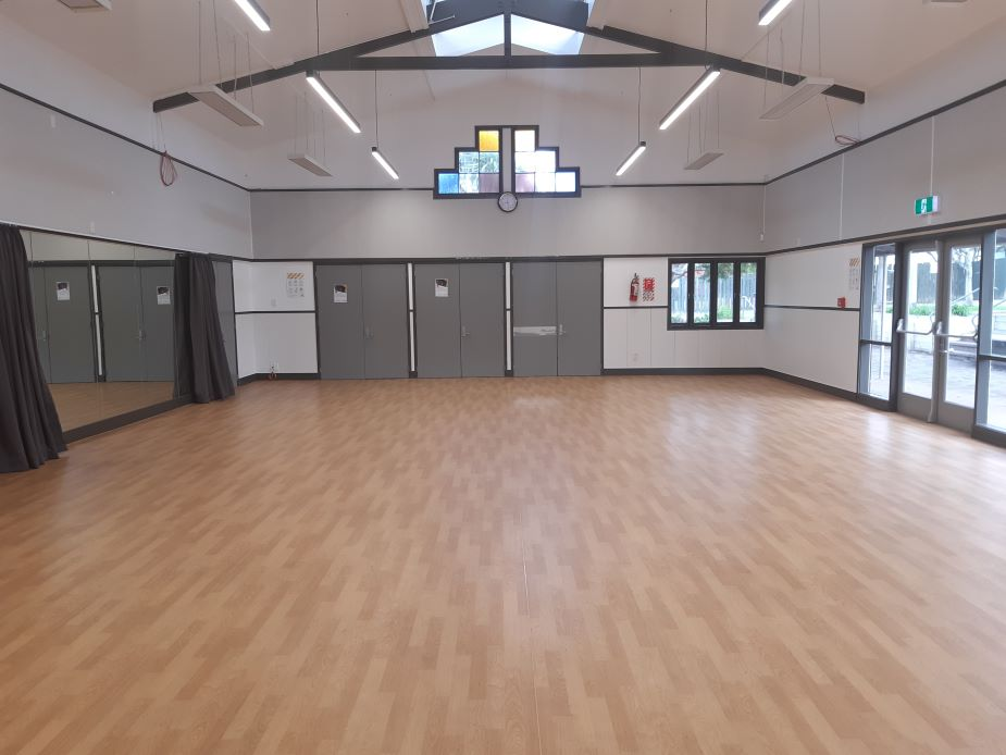Glen Innes Community Hall - alternative hall view