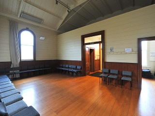 Warkworth Masonic Hall Interior