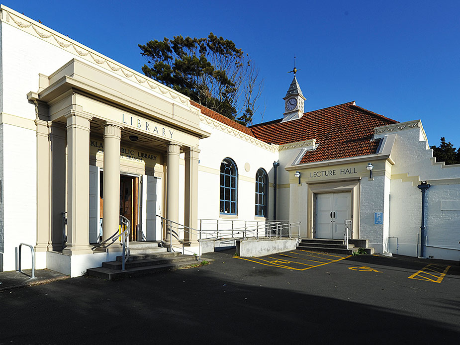 Grey Lynn Library Hall Exterior