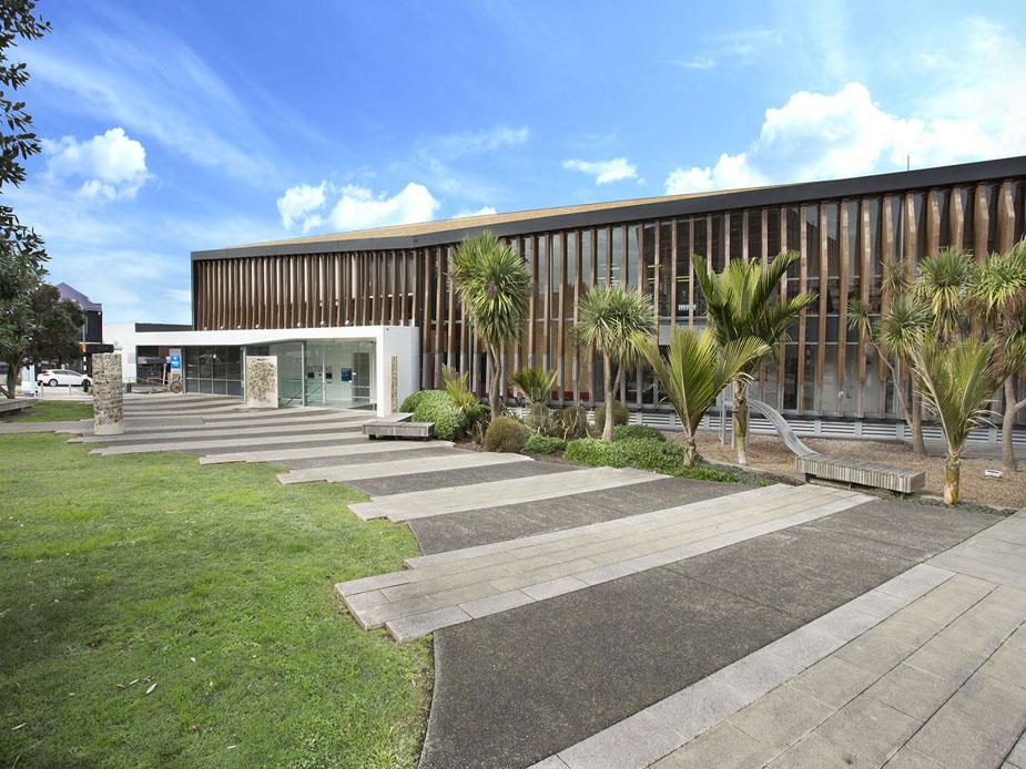 Birkenhead Library Exterior