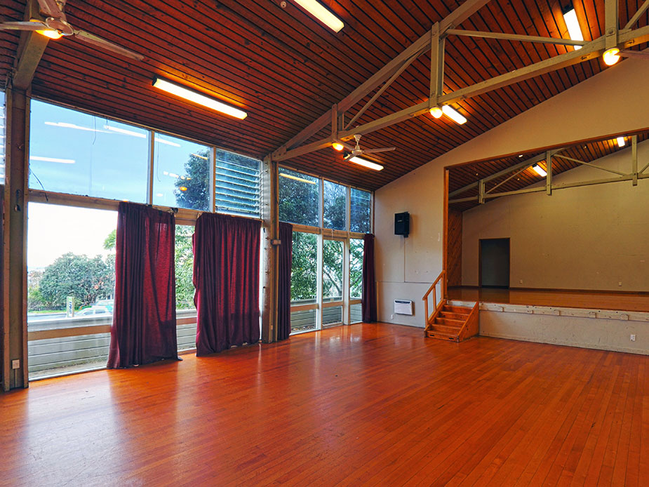Kelston Community Centre Main Hall Interior