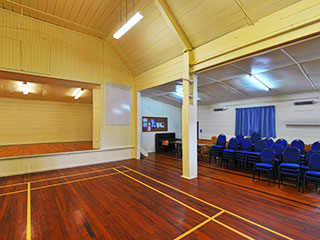 Kaukapakapa Memorial Hall Interior