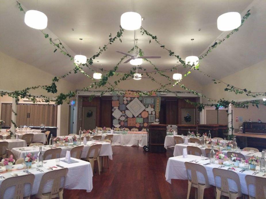 Coatesville Settlers Hall - Event setup