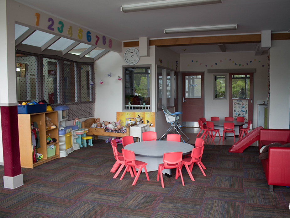 Mt Albert Community and Recreation Centre Playtime Room Interior