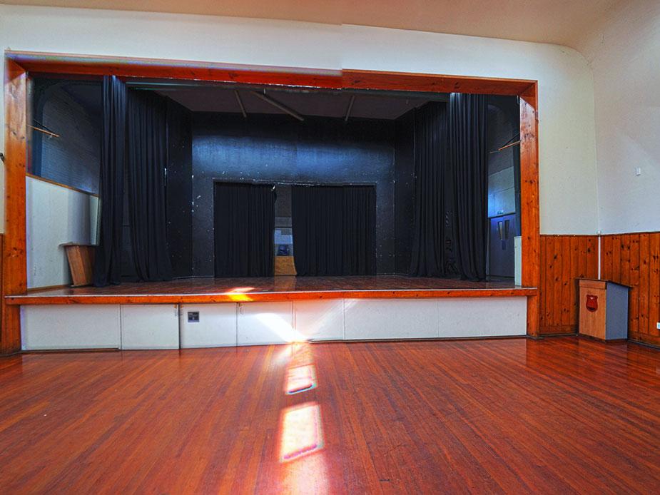 Panmure Community Hall Main Hall Interior