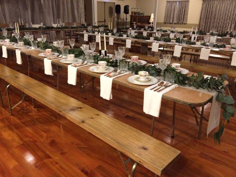 Coatesville Settlers Hall - Event setup 4