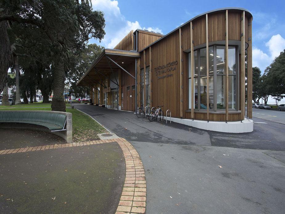 Devonport Library Exterior