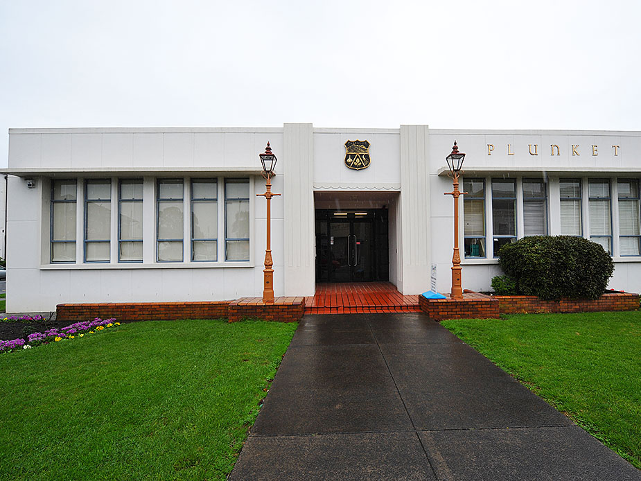 Pukekohe Old Borough Building Exterior