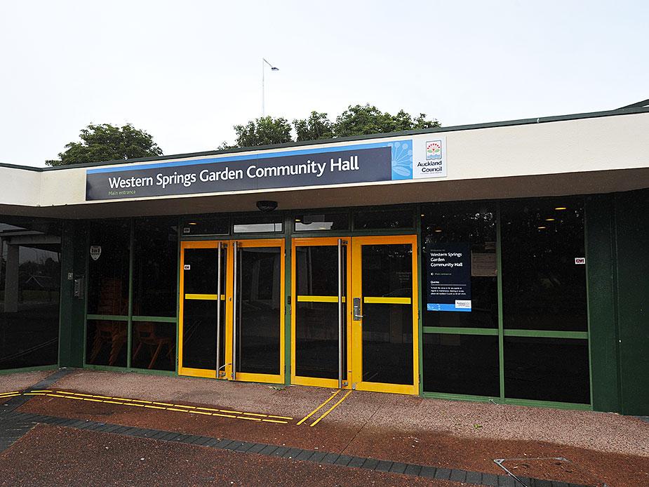 Western Springs Garden Community Hall Exterior