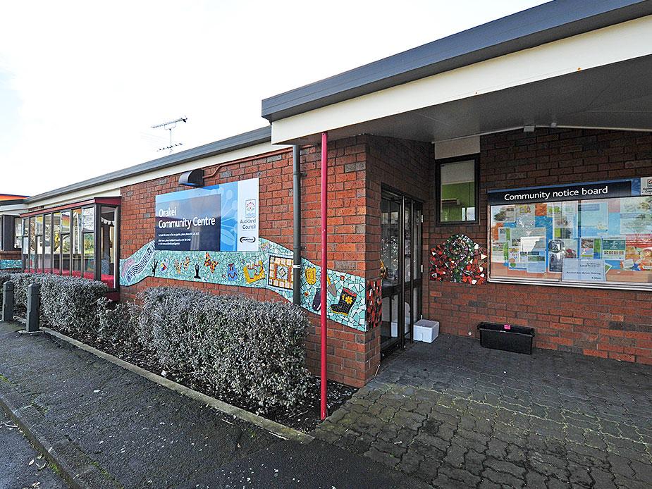 Orakei Community Centre Exterior