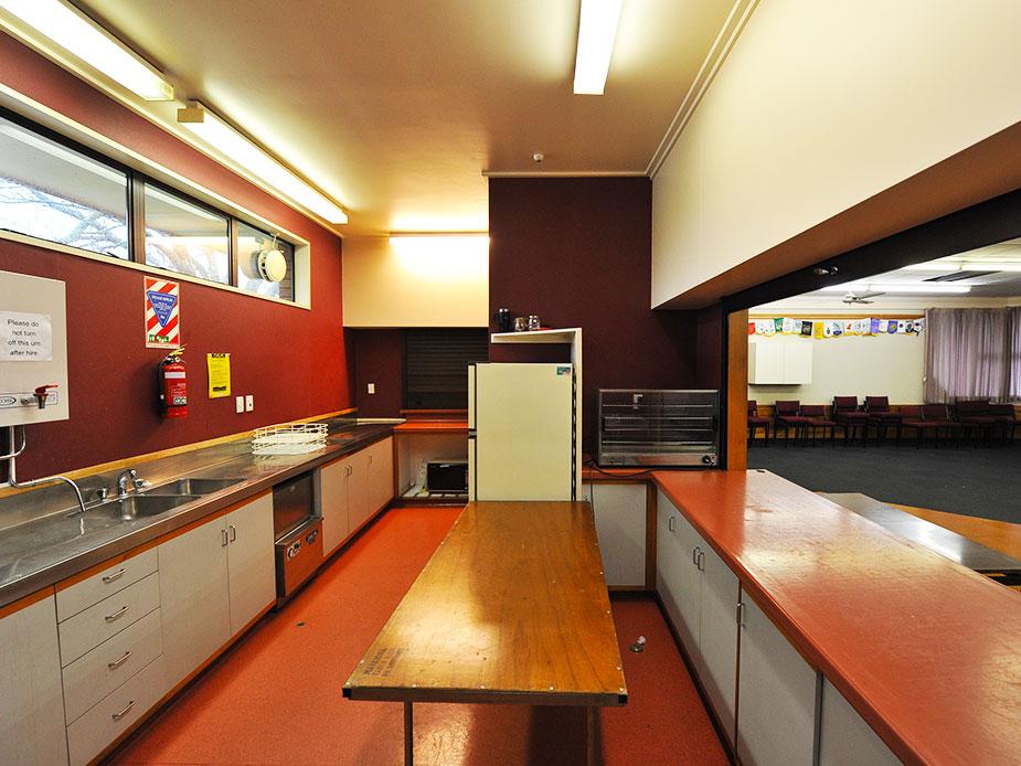 Waiuku Community Hall Kitchen 2