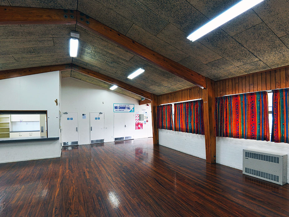 Wiri Community Hall Interior