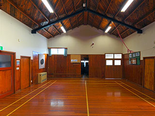 Orere War Memorial Hall Interior