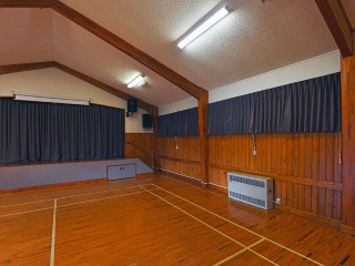 Kawakawa Bay Community Hall Interior 2