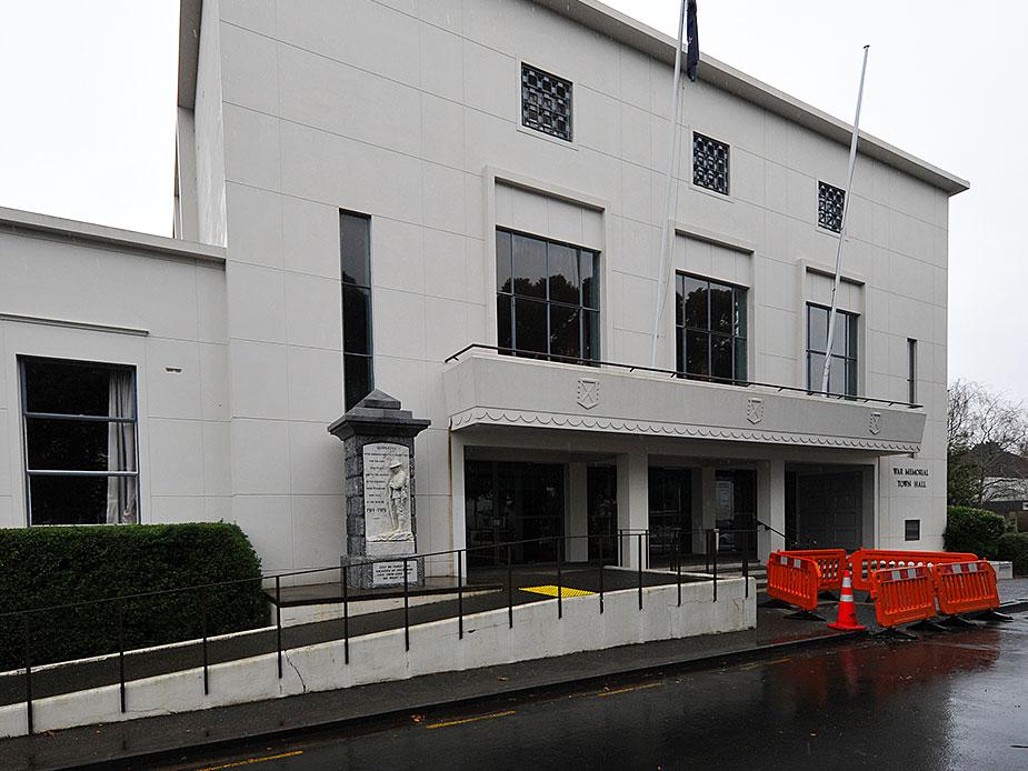 Pukekohe Town Hall Exterior 2