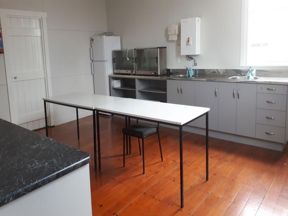 Mauku Victory Hall - kitchen view