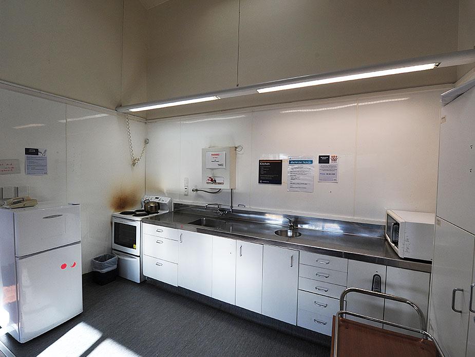 Jack Dickey Community Hall Kitchen