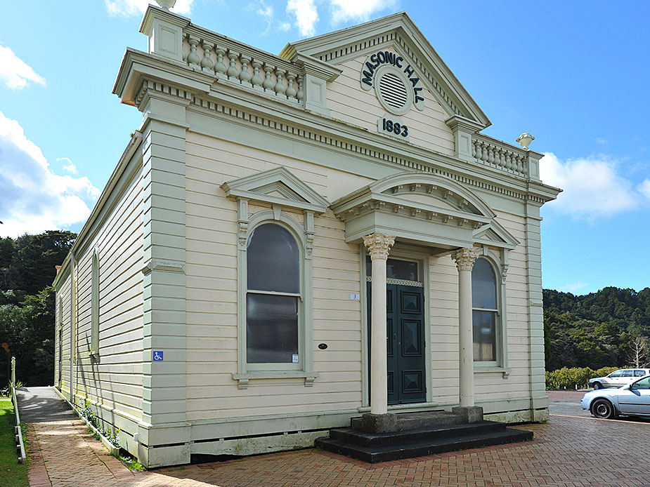 Warkworth Masonic Hall Exterior 2