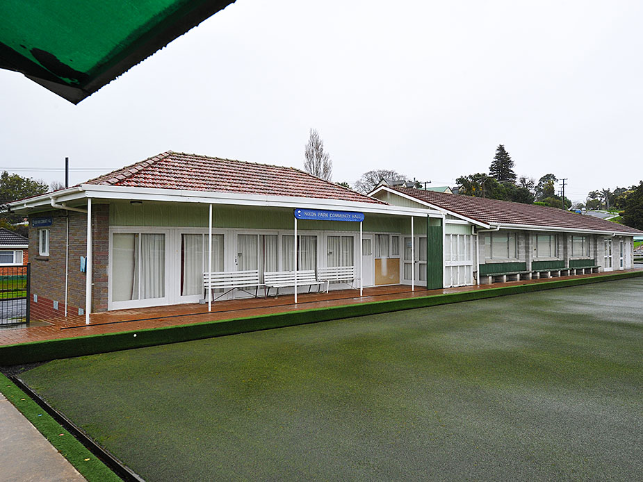 Nixon Park Community Hall Exterior 2