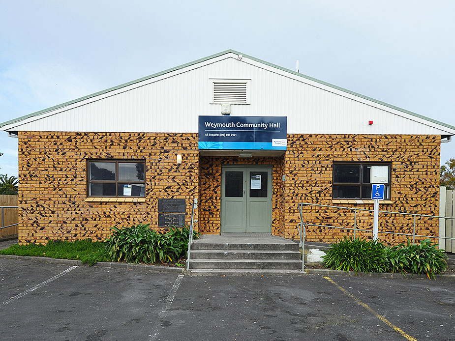 Weymouth Community Hall Exterior