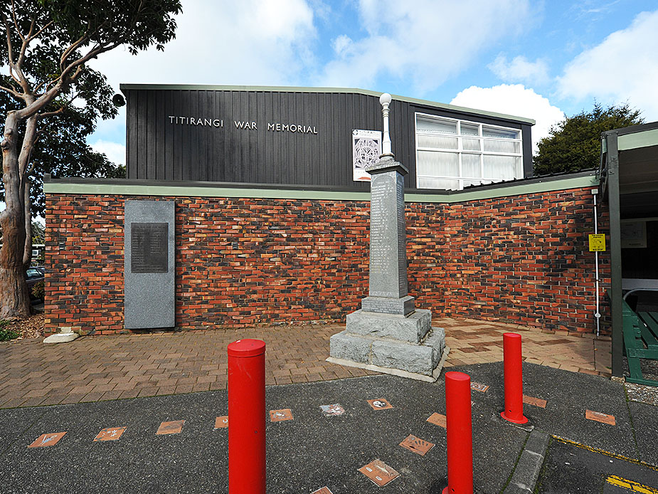 Titirangi War Memorial Hall Exterior