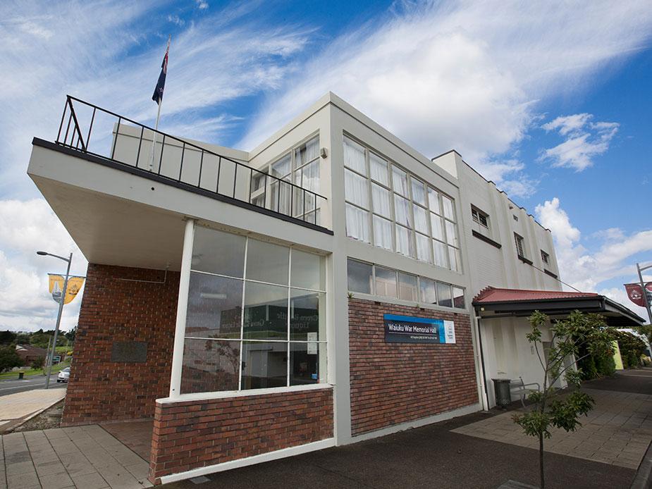 Waiuku Memorial Town Hall