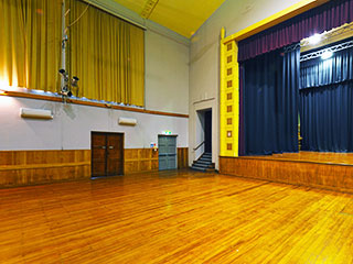 Pukekohe Town Hall Main Hall Interior