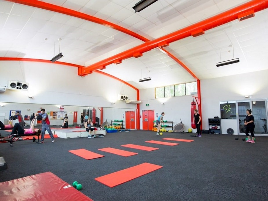 Ellerslie Leisure Centre - Group fitness studio
