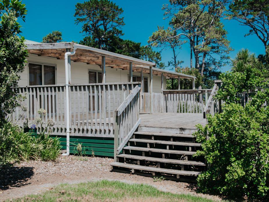Glenbrook Beach Community Hall - external deck