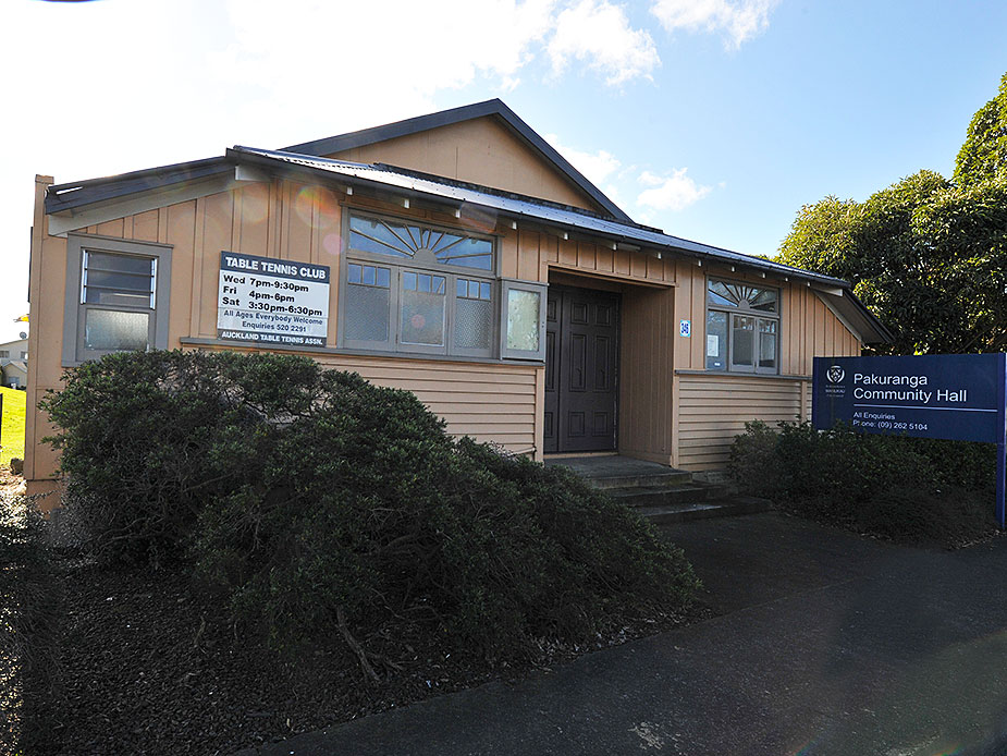 Pakuranga Community Hall Exterior