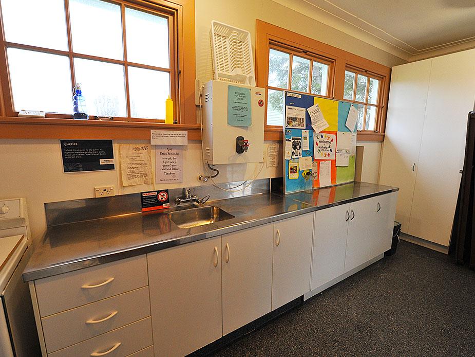 Old Blackpool School Hall Kitchen