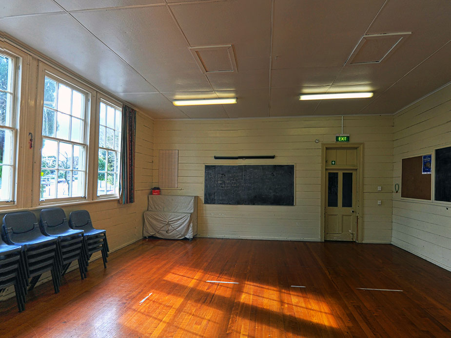 Papakura Old Central School Hall Interior