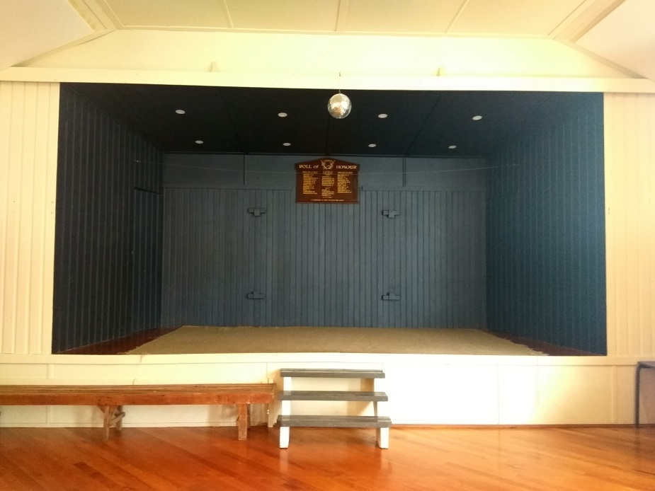 Ahuroa Hall - Stage