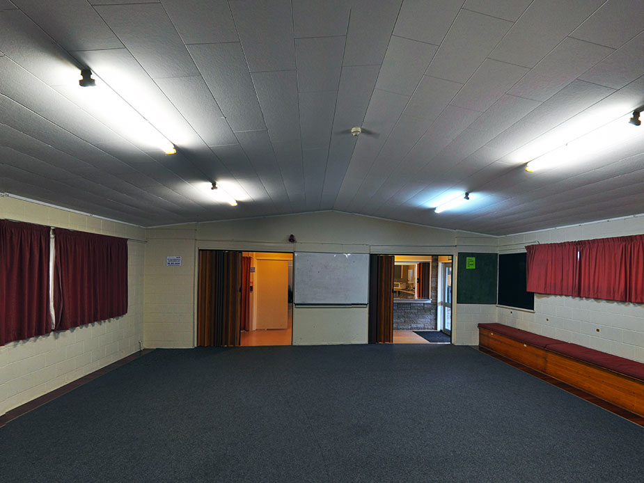 Nixon Park Community Hall Interior