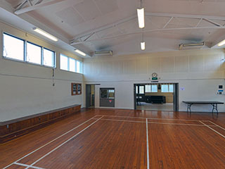 Tamaki Ex-Services Association Hall Main Hall Interior