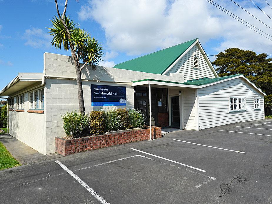 Waimauku War Memorial Hall Exterior