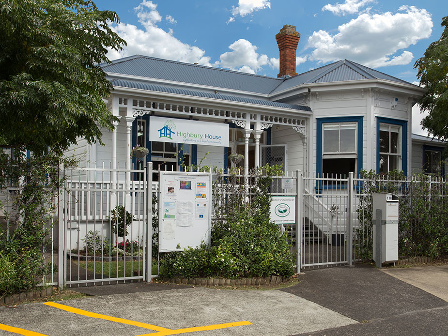 Highbury Community House And Early Learning Centre Auckland Council