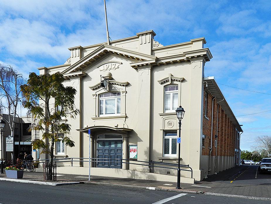 Papatoetoe Town Hall Exterior