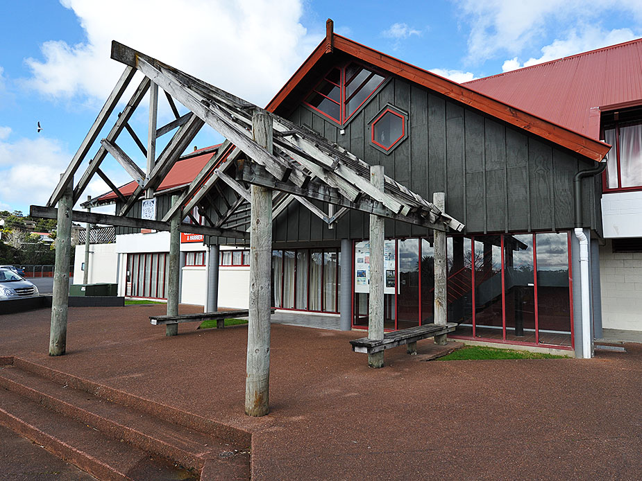 Ceramco Park Function Centre Exterior