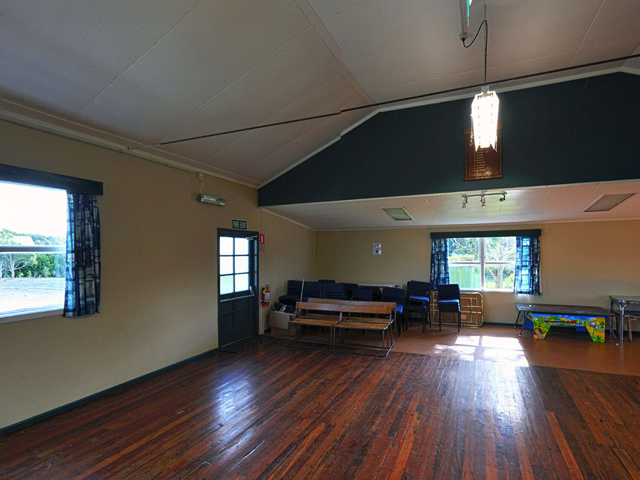 Wainui Hall Interior